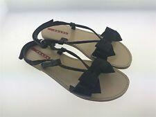 68cf1a34bc285 PRADA Sandals girl size 33