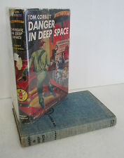 Tom Corbett Space Cadet DANGER IN DEEP SPACE by Carey Rockwell, 1960 in DJ