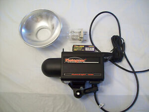 PHOTOGENIC POWER LIGHT 1250 MONOLIGHT FLASH - TESTED AND WORKS