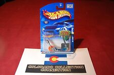 Hot Wheels - Mo' Scoot - 2002 Collector #157 - 1:64 Clear Blue