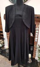 Ladies evening dress and bolero size 20 R&M Richards