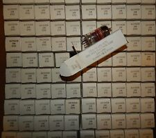 400 PIECES 5755 / 420-A  NOS NIB TUBES 12AX7 ECC83 W/ ADAPTER = WESTERN ELECTRIC