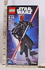 LEGO STAR WARS DARTH MAUL BUILDABLE FIGURE SET #75537 BOXED SEALED 2017