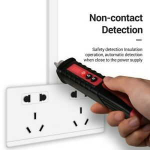 Voltage Tester Detector Pen AC 12-1000V Non Contact Stick Electric Test Meter