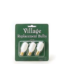 """Dept. 56 GVA """"Replacement Light Bulb""""  ~ Set of 3 ~ MIP"""