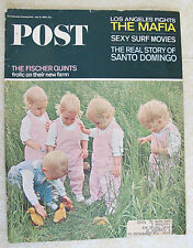 SATURDAY EVENING POST - THE FISCHER QUINTS - JULY 31, 1965