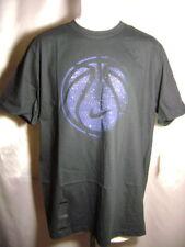 406039 012 New Nike BASKETBALL TEE black/blue