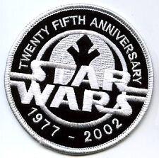 STAR WAR 25TH 1977-2002 ANNIVERSARY STAR WAR 25TH PATCH