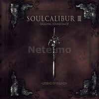 New 0581-2 SOUL CALIBUR I II III 1 2 3 Playstation 2 Original SoundTrack CD MICA