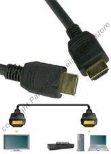 """Lot10 1.5ft/18"""" short HDMI Gold Cable/Cord HDTV/Plasma/TV/LED/LCD/DVR/DVD 1080p"""