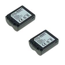 2x Akku für Panasonic Lumix DMC-FZ7 DMC-FZ28 DMC-FZ38 DMC-FZ50