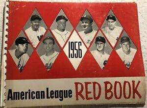 1956 AMERICAN LEAGUE Red Book WASHINGTON SENATORS Dressen NY YANKEES Stengel
