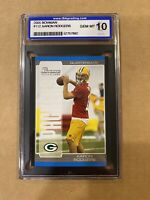 2005 AARON RODGERS ISA 10 GEM MT ROOKIE RC BOWMAN #112 GREEN BAY PACKERS