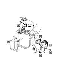Genuine MOPAR Anti-Lock Brake System Module 68259556AC
