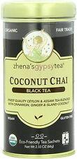 Coconut Chai Tea, Zhena's Gypsy Tea, 22 sachets