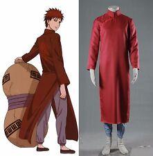 NARUTO Sabaku no Gaara Cosplay costume Kostüm manga Kimono Red Rot Herren Men