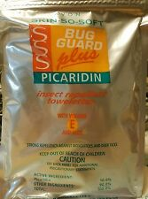 ❤Avon Skin So Soft Bug Guard Plus Picardin Insect Repellent Towelettes Pack of 8