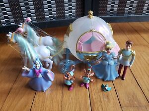 Disney Princess Favorite Moments DELUXE CINDERELLA COACH Carriage Playset HTF