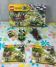 Lego World Racers 8899 Gator Swamp Boxed Almost Complete+Instructions
