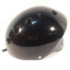 "Skateboarding Helmet Child Head Size (24"" or 61cm Diameter) Black Good Used Cond"