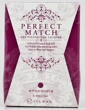 LeChat Perfect Match WILD BERRY #131 Gel Polish & Nail Lacquer PMS131
