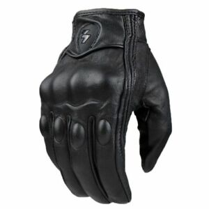 Motorcycle Gloves men women moto leather Carbon cycling winter gloves motorbike