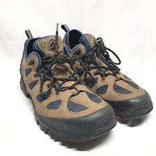 Ecco Receptor Mens Hiking Trail Shoes Gortex brown leather Sz 10 See Desciption