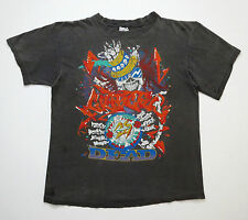 Grateful Dead Shirt T Shirt Vintage 1989 Graffiti Paint New Years Reonegro 25 L