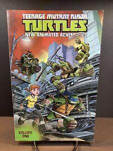 Teenage Mutant Ninja Turtles New Animated Adventures Vol 1 IDW Graphic Novel Tpb