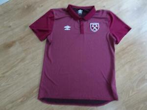 WEST HAM UMBRO mens football t shirt top SIZE XXL AUTHENTIC excellent