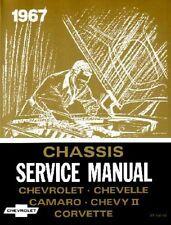 1967 Chevrolet Shop Service Repair Manual Book Engine Drivetrain Electrical OEM