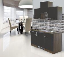 Cucina Mini Cucinino Singola 150 CM Blocco Rovere Grigio respekta