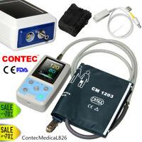Ambulantes Blutdruck-Patientenmonitor NIBP Holter SPO2 Pulsoximeter PC Software