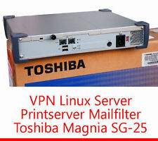 Toshiba VPN Server Magnia sg-25 Printserver firewall proxy server mail FILTRO sg25