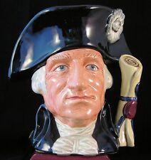 """Royal Doulton Character Jug """"George Washington"""" - D6669 Backstamp """"B"""""""
