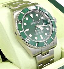 Rolex Submariner HULK 116610LV Green Dial & Ceramic Bezel Men's Watch *UNWORN*