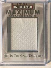 2015 In The Game Used Patrick Kane Jersey /50 Maximum Memorabilia  Leaf ITG SP