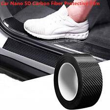 Carbon Fiber Car Sticker Protector Strip Door Sill Anti Scratch Tape Waterproof
