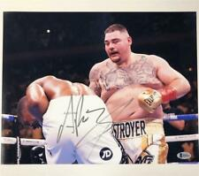 ANDY RUIZ JR Autograph Signed 11x14 Photo vs Anthony Joshua #1 ~ Beckett BAS COA