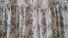 CROFTS & BARROW COTTON KNIT FLORAL PRINT NIGHTGOWN SIZE 3X NWT