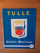 TULLE bulletin municipal deuxième trimestre 1975