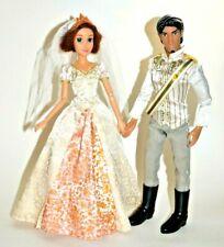 Disney Geschäft Prinzessin Tangled Braut Rapunzel Puppe & Flynn Rider Auf Ehe