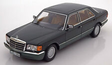 Norev 1985 Mercedes Benz 560 SEL W126 Dark Green Met Dealer Ed 1/18 New!
