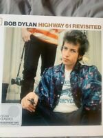 Bob Dylan = Highway 61 Revisited (Clear Color Vinyl) Sealed