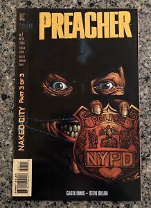 PREACHER #7 NM- (DC/Vertigo 1995) Garth Ennis, Steve Dillon, AMC TV Show