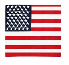 USA American Flag Bandana Mans Ladies Hair Band Scarf Shawl America 55x55cm UK