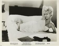 """""""FREE, WHITE AND 21""""-ORIGINAL PHOTO-ANNALENA LUND-BUSTY GLAMOR-ON BED-#16"""
