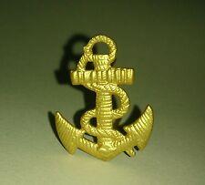 ANCRE pour Calot ou Casquette Troupes des Marine Nationale Française TDM T.D.M