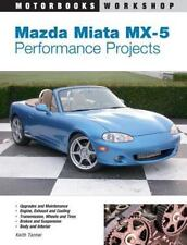 Mazda Miata MX-5 Performance Projects Book~35 Projects~Modification~More~NEW