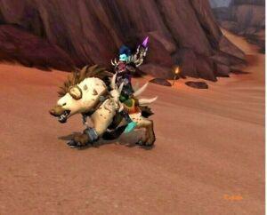 WoW Mount Gefangener Dünenaasfresser Reittier World of Warcraft